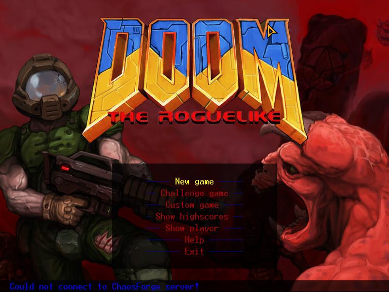 SplashScreen de DoomRL